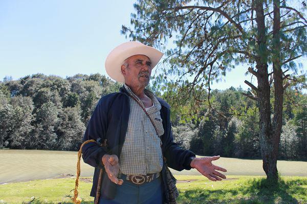 Pedro fue trabajador de la Quinta Las Palomas