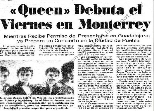 La razón por la que Freddie Mercury no quiso volver más a México   Periódico AM